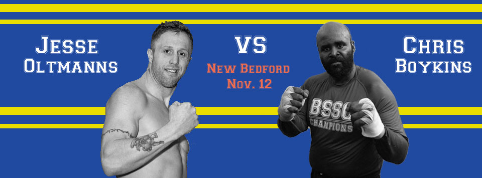 New Bedford's Own Chris Boykins Added to November 12 Whaling City Boxing Card