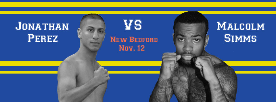 Perez and Simms to Square Off on New Bedford Boxing Card