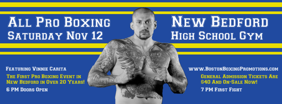 The American Nightmare Returns to the Boxing Ring in New Bedford